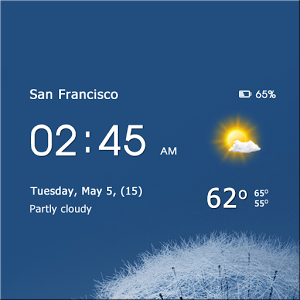 Transparent clock & weather v0.84.45