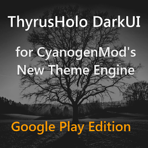 DarkUI Thyrusholo Theme CM11 v7.1
