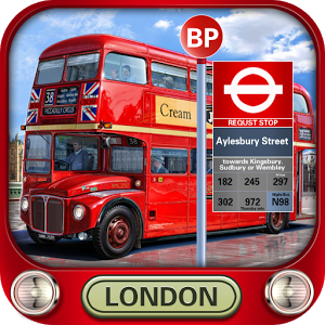 London city bus driving 3D v1.0