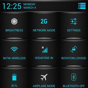 Blue Fire Theme CM11/AOKP v4.05