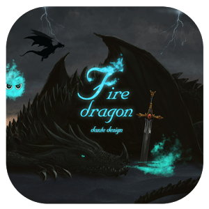 Fire Dragon GO Super Theme v1.2