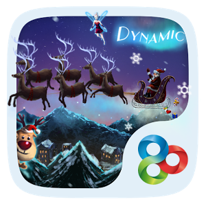 Christmas Trip Dynamic Theme v1.0