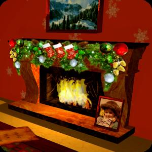3D Christmas Fireplace HD v1.19