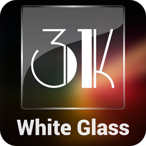 3K Glass White - Icon Pack v1.2.4