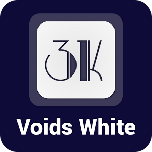 Voids White - Icon Pack v1.2.4