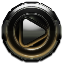 Poweramp skin Gold Glow v1.42