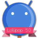 Lollipop 5.0 Blue Theme v2.c