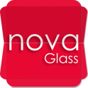 Nova Glass Icon pack + Widget v1