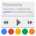 Poweramp skin 5in1 Now/Card UI v1.1.4