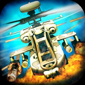 تحميل لعبة الطائرات الحربية الرائعة CHAOS Combat Copters v6.6.0 Android