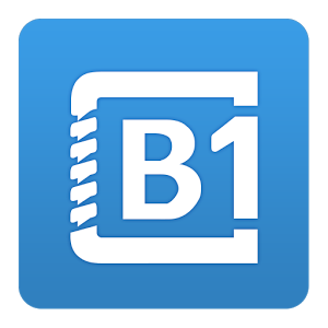 B1 Archiver zip rar unzip v0.9.3