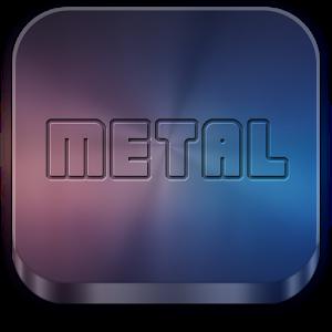 Download Metal APEXNOVAGOADW THEME V120 Apk Android App