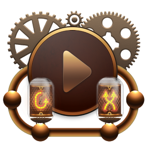 Poweramp skin Steampunk v1.0.4