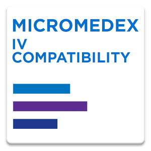 Micromedex IV Compatibility v1.20.0