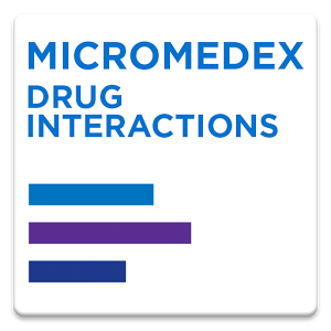 Micromedex Drug Interactions v2.0.0