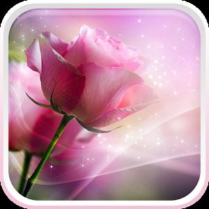 Pink Roses Live Wallpaper v2.0