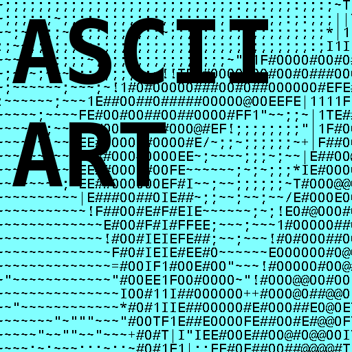 One Line Ascii Art For Texting : Download photo text ascii art v ad free apk android app