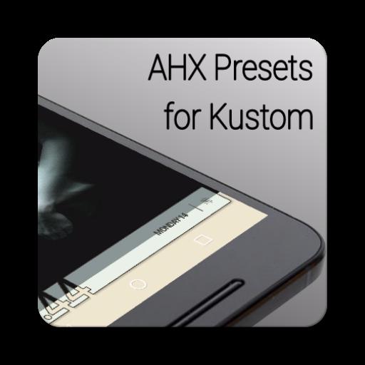 AHX Presets for Kustom / KLWP v2.55