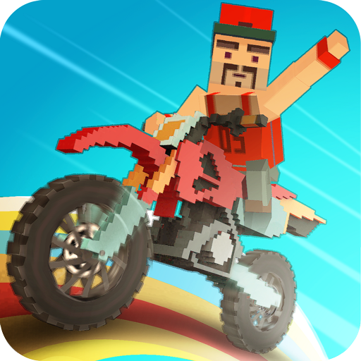 Moto Rider 3D: Blocky City 17 v1.3 [Mod Money]