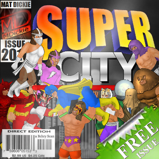 Super City (Superhero Sim) v1.100 [Unlocked]
