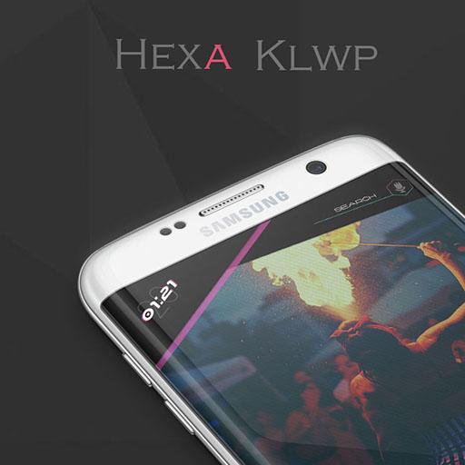 HeXa KLWP v1.1