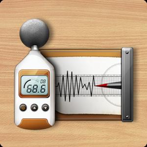 البرنامج الجديد لقياس شدة الضوضاء الرائع Sound Meter Pro v2.4.8 Android