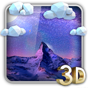 Storm Mountain 3D Wallpaper v1.2
