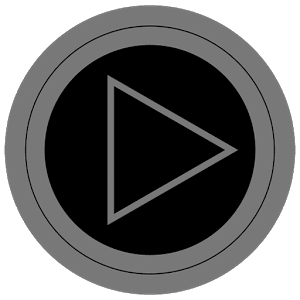 Poweramp skin TRON GREY v1.31