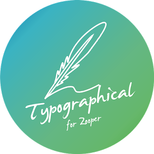 Typographical Zooper Theme v2.3.0