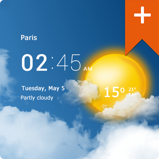 Transparent clock weather Pro v0.91.06.11