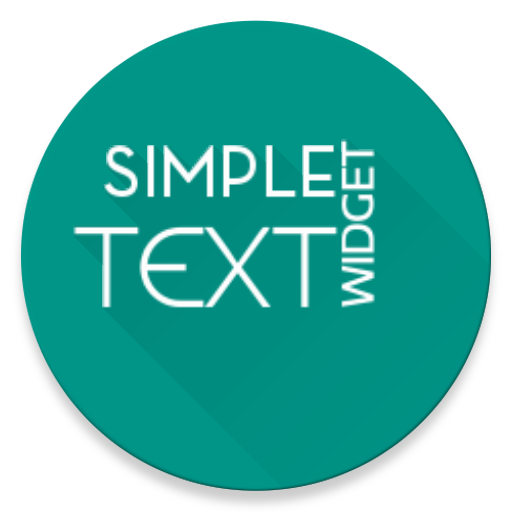 Simple Text Widget (Any Text) v3.1 [Full]