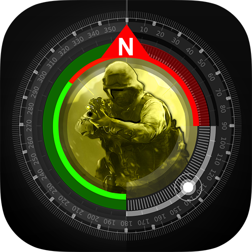 Compass GPS Pro  Military Compass with camera v1.6.2 [Ad Free]