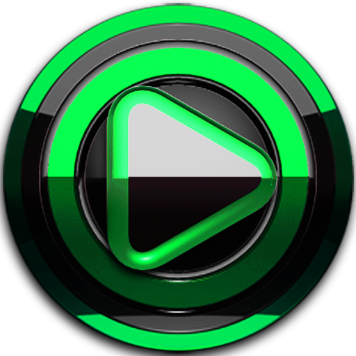 Poweramp skin Black Green v3.10