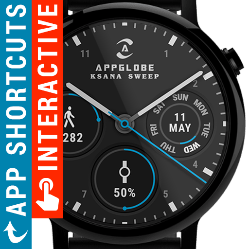 Ksana Sweep Watch Face for Android Wear OS v1.5.6